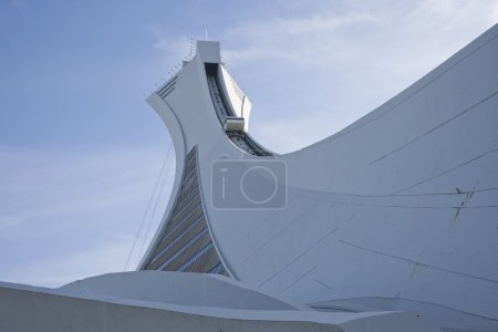 Olympic Stadium tower in Montreal