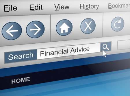 Searching for financial adviser.