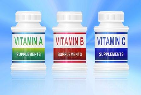 Vitamin supplements.
