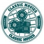 Постер, плакат: Stamp classic movies