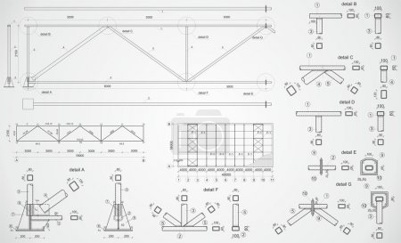 Industrial truss