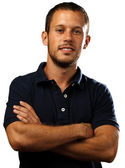 Man with polo shirt
