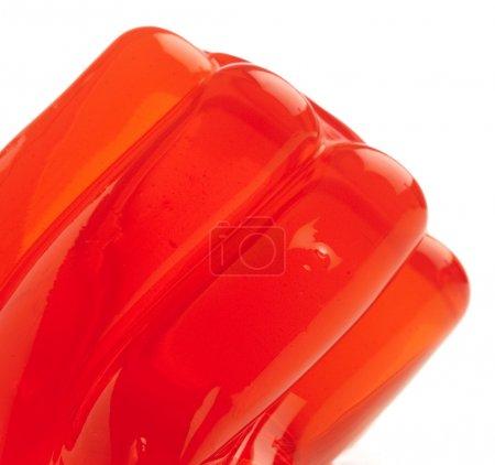 Red gelatin