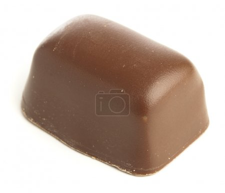 Photo for Chocolate sweets isolated on a white background - Royalty Free Image