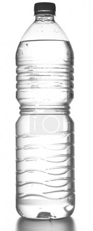 Photo for Water bottle isolated on a white background - Royalty Free Image