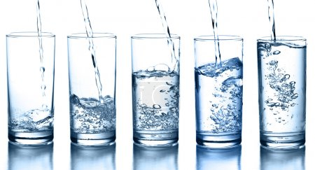 Photo for Water glass - Royalty Free Image