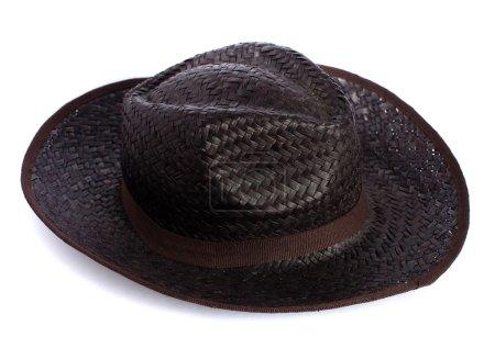 Photo pour Chapeau de paille - image libre de droit