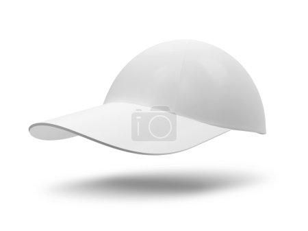 White Cap isolated on white background