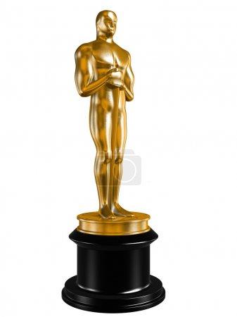 Oscar isolated