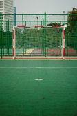 Pohled na fotbalové cíle