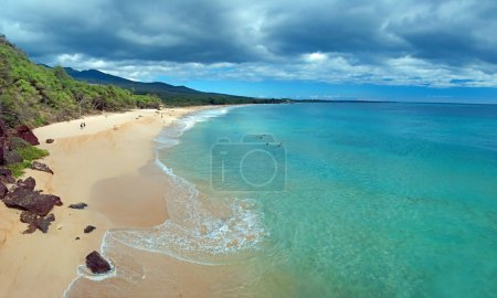 Big Beach on Maui Hawaii Island