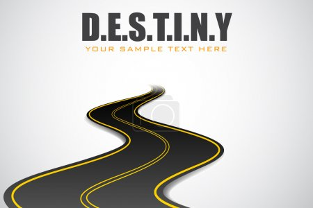 Road in Destiny Background
