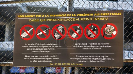 Information on the regulation of the violence in t...