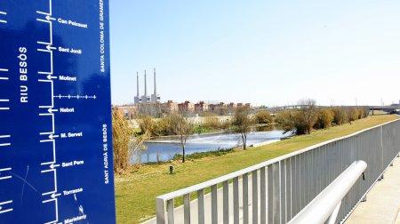 Information in Fluvial park of the Besós in Sant ...