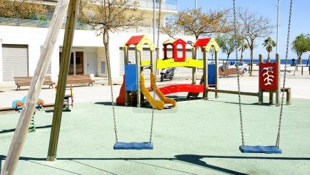 Foto de Juegos infantiles en badalona, barcelona - Imagen libre de derechos