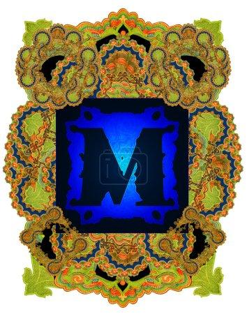 Letter M.