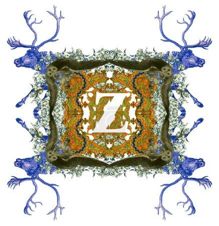 Letter Z.