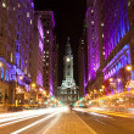 Philadelphia streets by night...