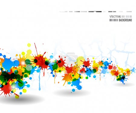Colour splash poster