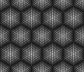 Seamless pattern of spots 70's style