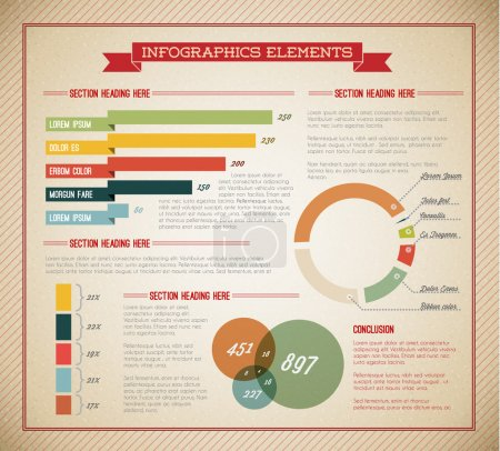 Big Vector set of Infographic elements
