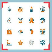 Christmas icons | In a frame series