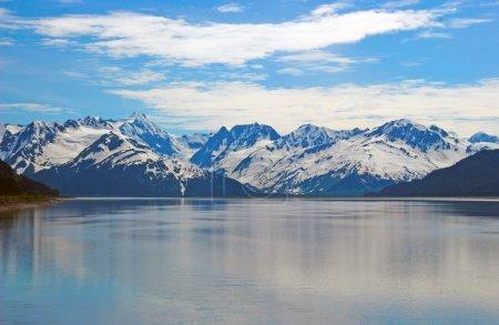 Photo pour Les monts Kenai près de Girdwood, Alaska - image libre de droit