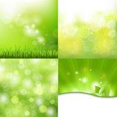 Nature Background Set