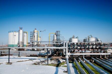 Winter gas industry
