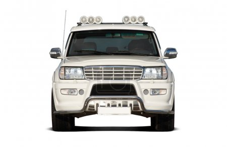 Front view of SUV
