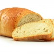 Loaf of bread isolated on white...