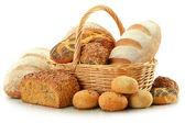 Složení s chlebem a rohlíky