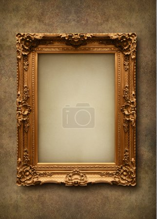 Photo for Picture frame on the wall - Royalty Free Image