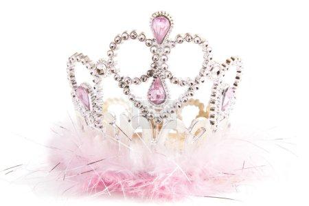 Fluffy fancy crown