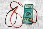 Několik schémata elektrických a elektrické tester
