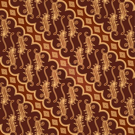 Seamless batik pattern....