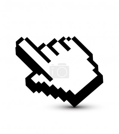 Mouse pointer design