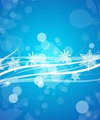 Vektorové modré čáry vánoční