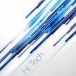 Blue abstract straight lines background...