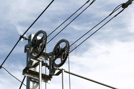 Railways wires