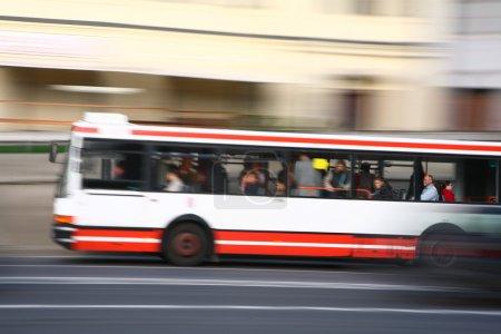 Bus dans la ville