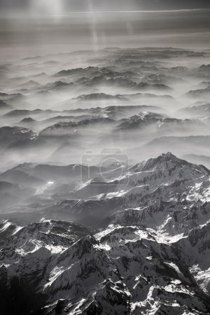 Photo for View to mountains of the pyrenees - Royalty Free Image