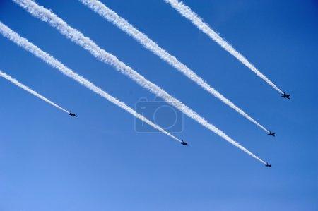 Air force acrobatic team
