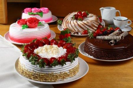 Photo pour Gâteaux brésiliens - image libre de droit