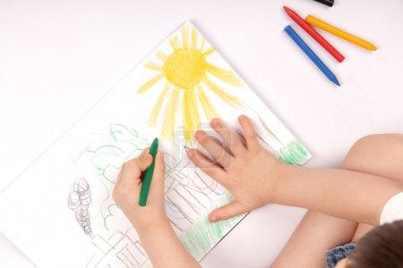 Photo pour Dessin image enfants - image libre de droit