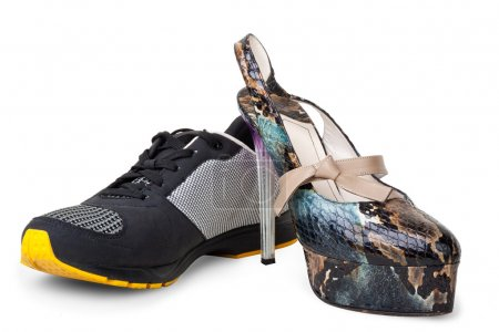 Women's and men's shoes