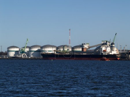 Lithuania Storage of mineral fertilizers in the Klaipeda seaport