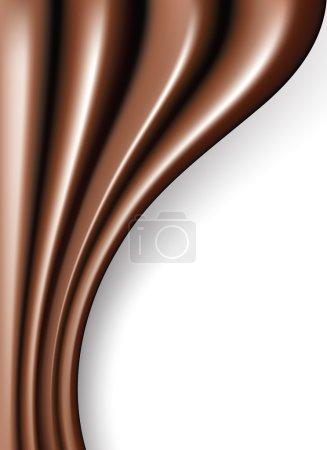 Vector chocolate folds