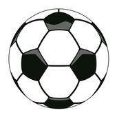 Vector soccer ball clipart