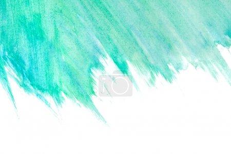 Photo pour Peint de fond à la main aquarelle abstraite - image libre de droit